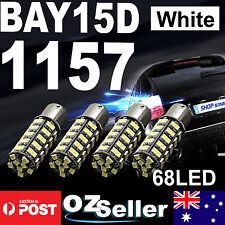 4 X 68 SMD 1157 BAY15D LED Light Globe Car Caravan Truck Brake Tail Stop Bulb AU