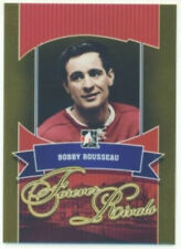 "BOBBY ROUSSEAU ""GOLD BASE CARD #19"" ITG FOREVER RIVALS MONTREAL CANADIENS"