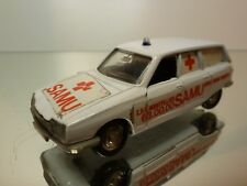 LUSO TOYS - CITROEN GS 1220 BREAK PALLAS  AMBULANCE  1:43 - GOOD CONDITION