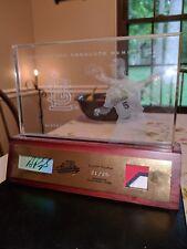 2003 playoff ALBERT PUJOLS #21/25 auto PATCH plaque CARDINALS signed ANGELS