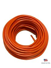 16 Gauge Orange Primary AWG Stranded Copper Wire 25 FT PowerPath - Made In USA