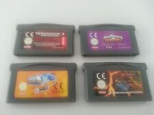 Terminator 3, Power Rangers Ninja Storm, SSX, Yu-Gi-Oh | GBA Gameboy Advance
