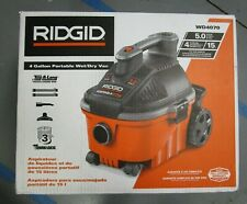 "Ridgid 5HP 4-Gallon Portable Wet/Dry Vacuum w/ 1-7/8"" Hose WD4070 BRAND NEW"