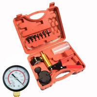 Hand-Held Brake Bleeder Tester Set Bleed Kit Car Motorbike Bleeding Vacuum Pump