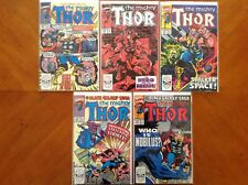 Thor (1962 - 1996 1st Series Journey Into Mystery) #415, #416, #417, #420 & #422