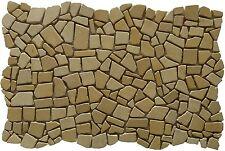 ''VIOLA'' palladiana rivestimento mosaico in marmo rosone fatto su rete 30 x 47