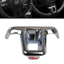 FIT FOR VW GOLF MK6 POLO JETTA  TOURAN TIGUAN STEERING WHEEL CHROME INSERT COVER