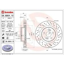 2x Disque de frein BREMBO (09.8904.1X)