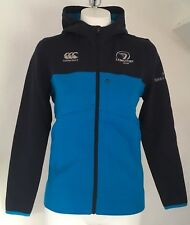 LEINSTER RUGBY BLACK IRIS FULL ZIP HOODY BY CANTERBURY SIZE BOYS 12 YEARS NEW