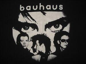 Vintage 1980s BAUHAUS T SHIRT New Wave Concert JOY DIVISION LP 80s Rare L / XL