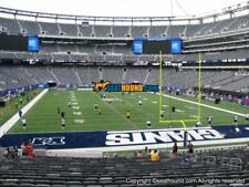 2 NY New York Giants PSL MetLife Stadium section 128 - aisle seats 5627884f7