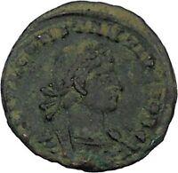 CONSTANTIUS II Constantine the Great son Ancient   Roman Coin Standard  i45881