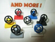 Lego - Vehicle Steering Stand 1x2 Wheel 3829c01 3829c02 Choose Color & Quantity