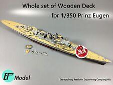 1/350 Prinz Eugen Wooden Deck for Trumpeter 05313