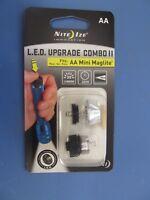 Nite Ize LED Upgrade Combo II  Fits: AA Mini Maglite #LUC2-07  NEW