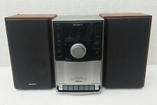 SONY CMT-EH10 Micro Hi-Fi Component System. CD/Tape/Radio