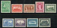 1929 Newfoundland SG179-187 Very Fine Fresh Lightly M/M Set of 9 Cat. £110.00