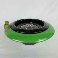 Roulette Wheel Decanter Green 1973 R.E.M 733 11 Wide 4.5 Tall
