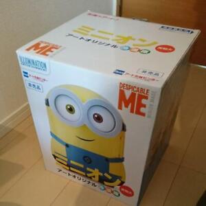 Minions Mini Fridge Portable Cool Warm Mode Limited JAPAN 4L tracking# F/S New