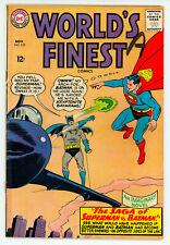 JERRY WEIST ESTATE: WORLD'S FINEST COMICS #114 (VG-) & 153 (VG) (DC 1960-65)