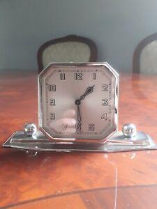 Art Deco Desk Clock 30 Hour Working