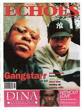 Echoes Newspaper 17 July 1999     Gangstarr      Harlem Gem     Marc Dorsey