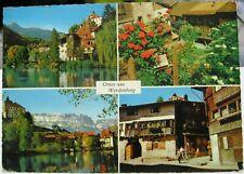 Switzerland Gruss aus Werdenberg - posted 1961