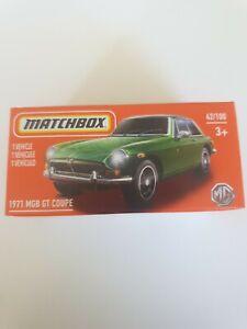 Matchbox 1971 MGB GT Coupe 42/100 2021