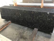 Golden Black Prefab Quartz Countertops