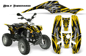 POLARIS TRAILBLAZER SCRAMBLER GRAPHICS KIT CREATORX DECALS BOLT THROWER YELLOW