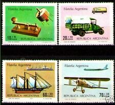 Argentina 1977 ScB69-72 Mi1302-05 mnh Mail Transport.