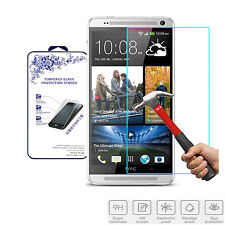 For HTC One Max Premium Real Tempered Glass Film Screen Protector