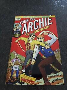 Your Pal Archie #1 Homage Variant Hulk 180 Htf NM Only 500