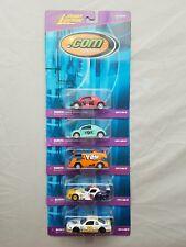 Johnny Lightning .Com Racers Y2K Vw Beetle Vw Bus Ebay 1/64 Diecast Lot of 5
