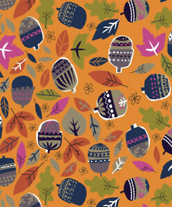 Fat Quarter Dashwood Studios Walk In The Woods 100% Cotton Fabric