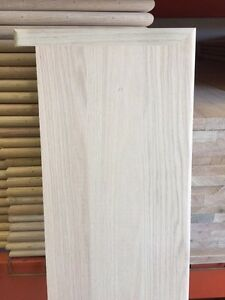 """Solid Red Oak Wood Stair Treads 1"""" thick x 11 1/2"""" width - 36"""" 42"""" 48"""" 54"""""""