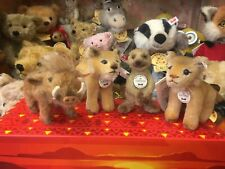 More details for steiff disney lion king gift set ean 354922 bear shop limited edition 638/994