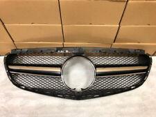 Mercedes Benz E63 Look Black Grill for W212 E Class E350 E550 2014-2016 w/AMG