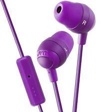 JVC HA-FR6A Auriculares Gummy Plus intra-auditivos, control remoto y micrófono