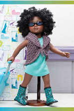 """On the Go Fashions Crochet Pattern Book for 18"""" Dolls - fits American Girl doll"""