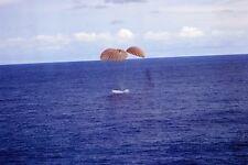 New 5x7 NASA Photo: Apollo 13 Splashdown After Lunar Landing Mission