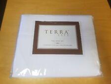 Terra Life Full Sheet Set - White New
