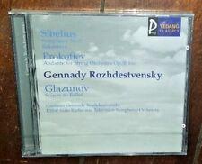 Sibelius Symphony No.7 by Gennady Rozhdestvensky (CD, Yedang, 2001)