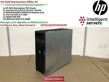 HP Z620 Workstation 2x Xeon E5-2670 V2 2.50GHz 96GB 1TB SATA 256GB SSD NVS 300