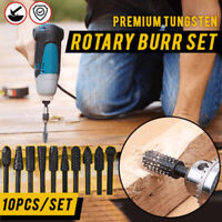 Rasp Chisel Drill Bits Set Universal shape Grinding Polishing Engraving Cutter