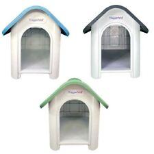More details for hugglepets plastic dog kennel with ventilation outdoor weatherproof pet shelter