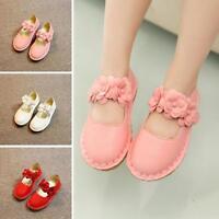 New Hot Girls Kids Child Princess Flower Flats Slip on Soft Shoes Lolita Sandals
