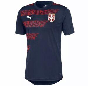 Puma Serbia 2020/2021 Soccer Futbol Stadium Jersey Men's Size 3X-Large New w/Tag