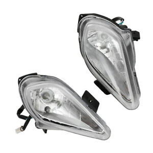 Pair 12V Motorcycle ATV Front Bulb Headlamp Night Light Bike For 150cc-250cc