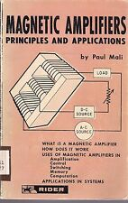 Magnetic Amplifiers - Principles and Applications (1960) - Book on CD